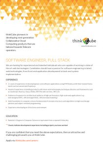 SOFTWARE ENGINEER-FULLSTACK
